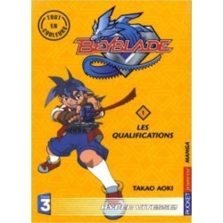 Beyblade Tome 01 Les Qualifications