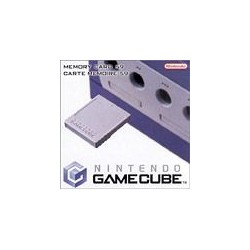 Carte Memoire Game Cube officielle 59 blocs