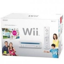 Nintendo Wii pack Family Edition