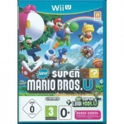 New Super Mario Bros U + New Super Luigi U Edition Allemande
