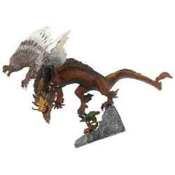 McFarlane's Dragons Série 2 Fire Clan Dragon