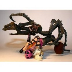 McFarlane's Monsters Série 4 Twisted Fairy Tales Miss Muffet