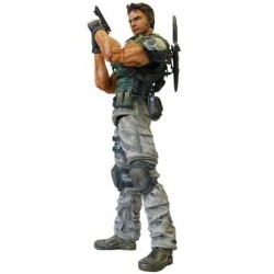 Resident Evil Play Arts Kai Chris Redfield