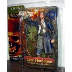 Neca Pirates des Caraibes Serie 3 Le Coffre Maudit Captain Norrington