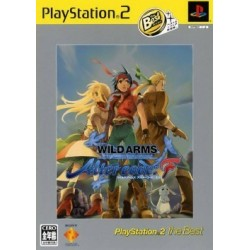 Wild Arms Alter Code F PS2 The Best JAP