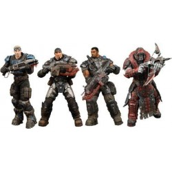 Gears of War Pack 4 Figurines