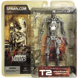 McFarlane's Movie Maniacs 5 T-800 Endoskeleton from Terminator 2 Judgment Day