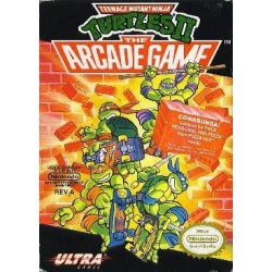 Teenage Mutant Ninja Turtles 2 The Arcade Game