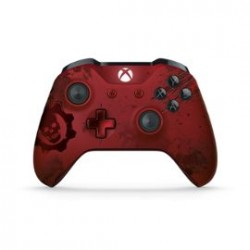 Manette Officielle Sans Fil Pour Xbox One Gears Of War 4 Crimson Omen