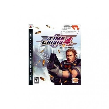 Time Crisis 4 + Guncon 3 US
