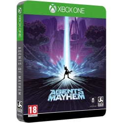Agents Of Mayhem Steelbook Edition