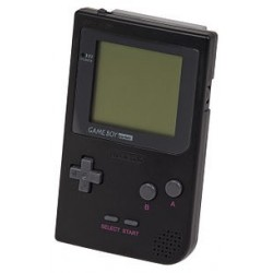 Game Boy Pocket Noire