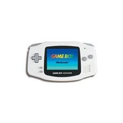 Game Boy Advance Blanche