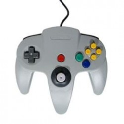 Manette Nintendo 64 Grise Officielle