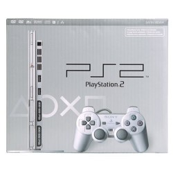 SONY PS2 Slim Silver
