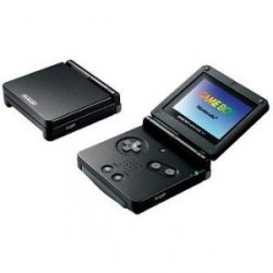 Game Boy Advance SP Noir