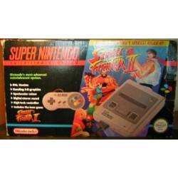 Nintendo Super Nintendo pack Street Figher 2 Turbo