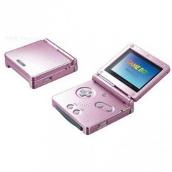Game Boy Advance SP Rose