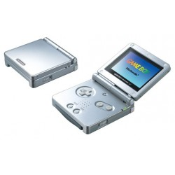 Game Boy Advance SP Grise