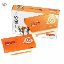 Nintendo DS Lite Limited Edition Naruto